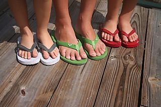 6ac012118f28c The study determined that wearing thong-style flip-flops can result in sore  feet