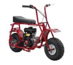 mini bikes and go-carts,