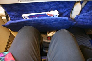 British Airways Leg Room