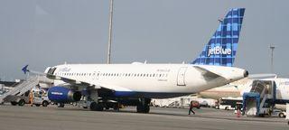 Jet Blue Cropped