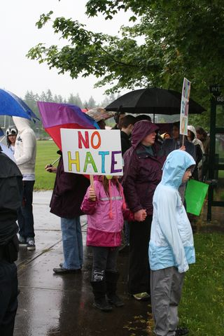 WBC No Hate Sign