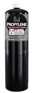 Gas Cylinder Black