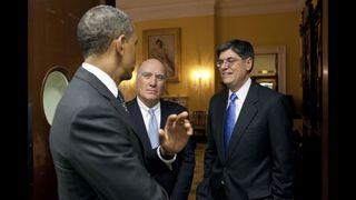 Obama, Lew, Dailey
