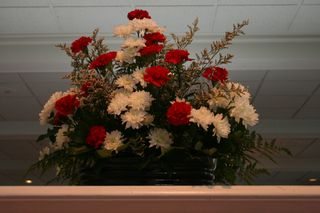 Flowers on Mantel (2)