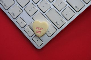 Valentine's Candy on Keyboard