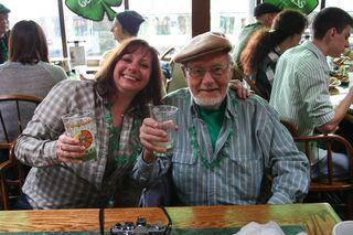 St. Patrick's Day Revelers