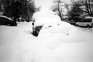 Car Heavy Snow