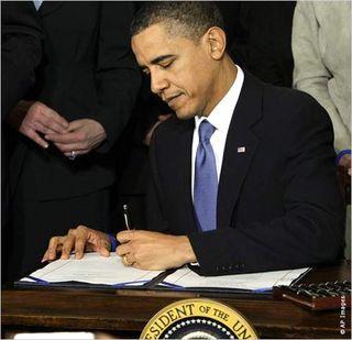 Obama Signs HC Reform