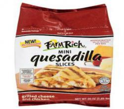 Farm_rich_chicken_and_cheese_mini_quesadilla_slices