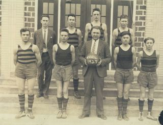 Minor Slingsby Basketball Team 1927