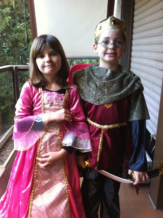 Halloween Queen Cecilia and King Rafa