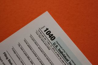 Income Tax Form Orange IMG_9489