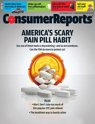 Consumer Reports September 2014