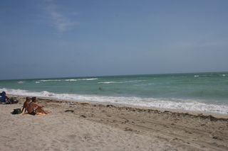 Beach Miami Two People