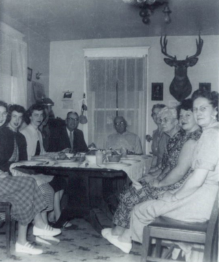 Kenyon Thanksgiving Dinner 1954