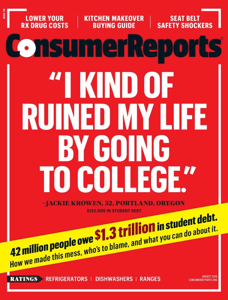 do you regret going to college and amassing huge student loan debt