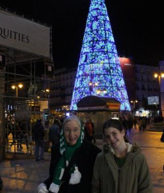 Cecilia and Rita Christmas 2016