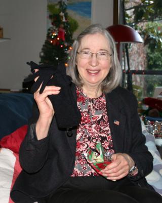 Rita With Christmas Gift 2011 094