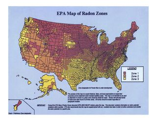 Radon zonemapcolor