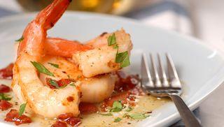 Shrimp seafood-page