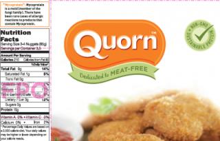Quorn label 2