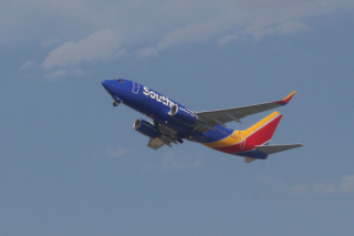Southwest Flying Airplane