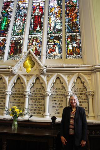 Rita in Ireland Church