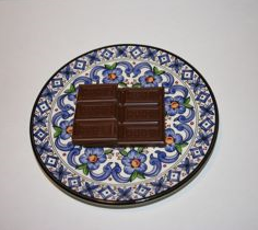 Chocolate on Plate IMG_9943