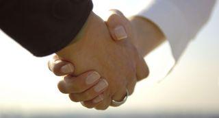 Handshake-white