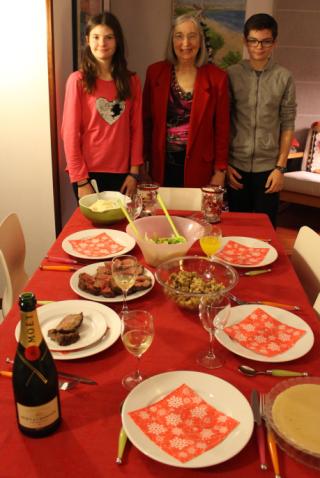 Christmas Eve Dinner 2016
