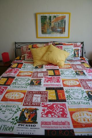 Bed With Bedspread at Marie's