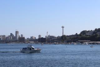 Space Needle Big Boat Seattle IMG_5335