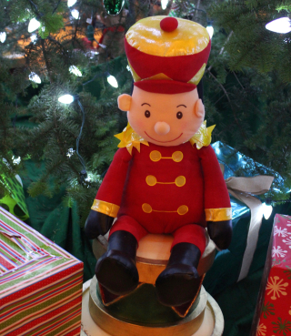 Christmas Toy Soldier Square