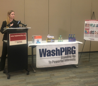 WashPIRG toy safety event 2