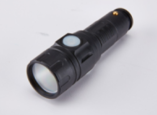 Flashlight With Vehicle Recharger