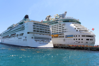 Adventure of the Seas Royal Caribbean and Norweigean Pearl