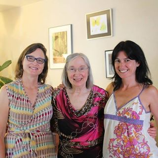 Rita Robison and Her Daughters