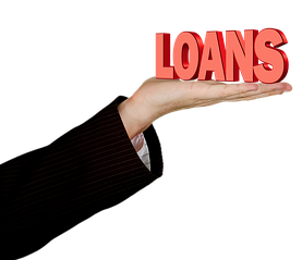 Loan-an Arm Handing Out a Sign That Says Loan-1037741__340