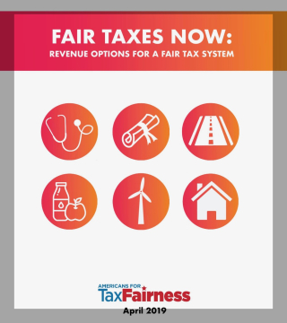 Cover for Report on Options for a Fair Tax System