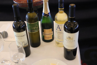 Wine Bottles on Cruise Ship Royal Caribbean