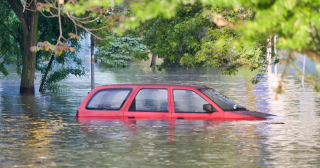 Flooded Cars Look Out for Damage