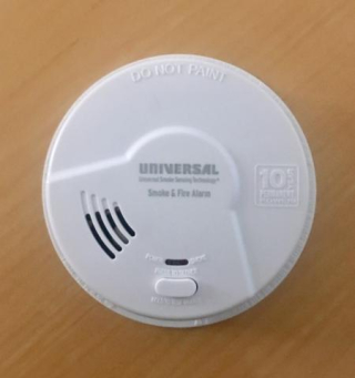 Smoke Alarm by Universal Security Instruments Recalled