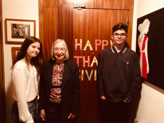 Thanksgiving 2018 With Rita R Robison and Grandkids 2018