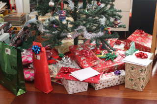 Christmas Presents Under the Tree 12-25-19