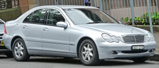 2004_Mercedes-Benz_C_200_Kompressor_(W_203)_Elegance_sedan_(2011-12-06) Recalled Due to Possible Sunroof That Could Detach