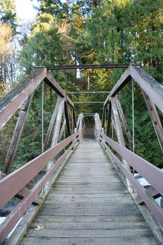 Bridge Tumwater Falls Park
