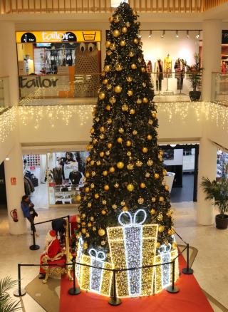 Christmas Tree Arturo Soria Mall Madrid Spain 12-23-19