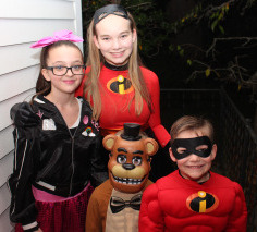 Halloween Trick or Treaters 2017