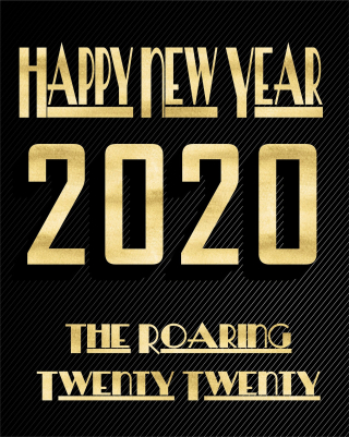 Happy-new-year-2020 The Roaring Twenty Twenty 4660812_1920
