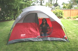 Tent in the Yard Lisa Robison